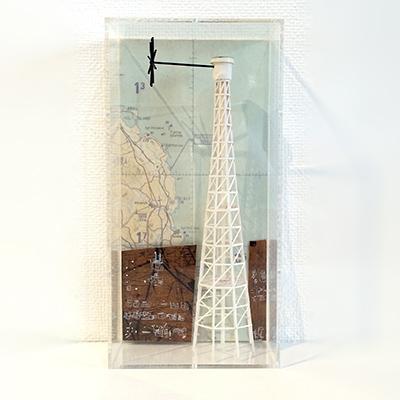 "YAMAMOTO Takeshi ""untitled box 2013"" 10×5×h20cm acrylic box"