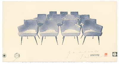 """CHAIR 2014 eleven chairs "" sheet 35,000JPY"