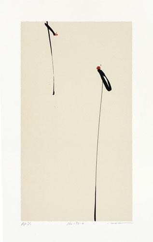 Zhou Hao No.193-h-(37.5x21cm) lithograph  28,000JPY