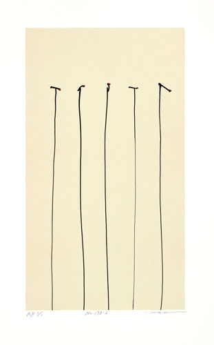 No.198-h-(37.5x21cm) lithograph  28,000JPY