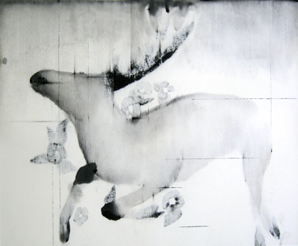 On the wall (2010) 600x800mm